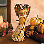 Harvest Angel with Pumpkin