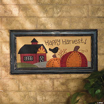 """Happy Harvest"" Wall Hanging"