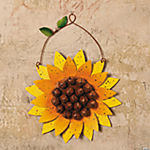 Sunflower with Bells Wall Hanging