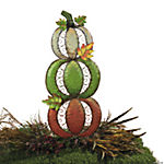 Three Pumpkin Yard Stake