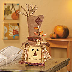 Scarecrow Head Decoration