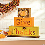 """Give Thanks"" Light Blocks"