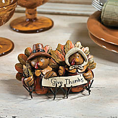 Turkey Couple Tabletopper