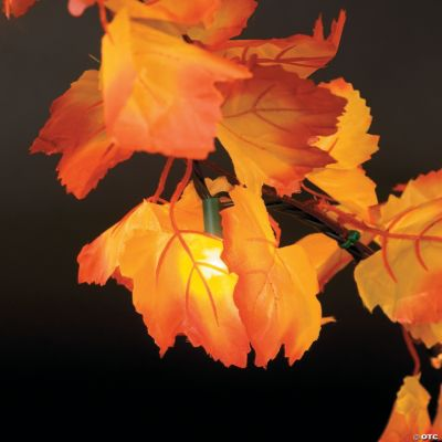 Autumn Leaves Light String - Oriental Trading