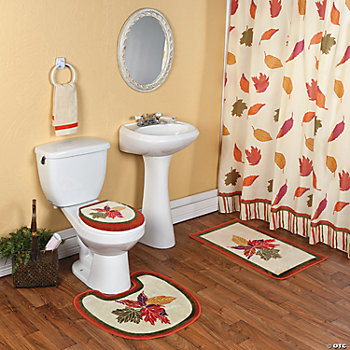 Fall Leaves Bath Collection