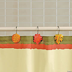 Fall Leaf Curtain Hooks