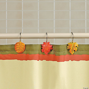 Fall Leaves  Shower Hooks