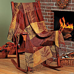Fall Chenille Throw
