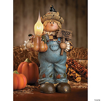 Scarecrow Candle Lamp