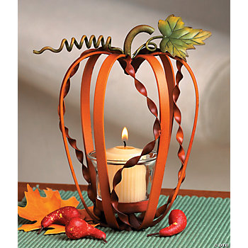 Pumpkin Votive Holder