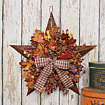 Autumn Leaves Barn Star
