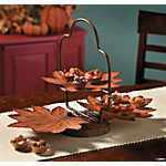 Two-Tier Autumn Leaves Server