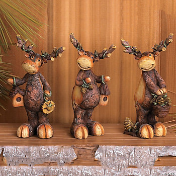 Moose Figurines