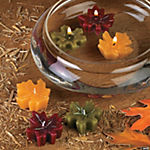Autumn Leaf Floating Candles