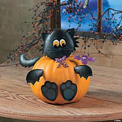 Cat Pumpkin Poke-Ins