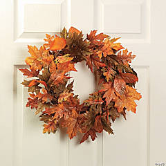 Glitter Maple Leaf Wreath