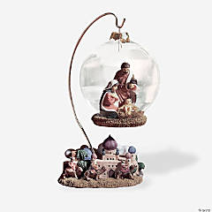 Nativity Ball With Bethlehem Base