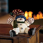 Stuffed Snowman on Skates