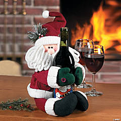 Musical Santa Bottle Hugger
