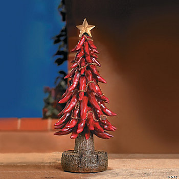 Chili Pepper Christmas Tree