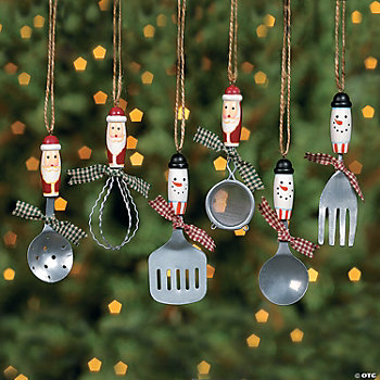 Kitchen Utensil Ornaments Ornaments Party Decorations