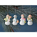 Snow Lady Ornaments