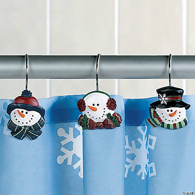 Snowman Shower Hooks Oriental Trading Discontinued