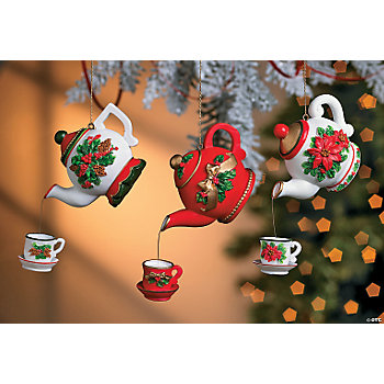 Teapot Ornaments