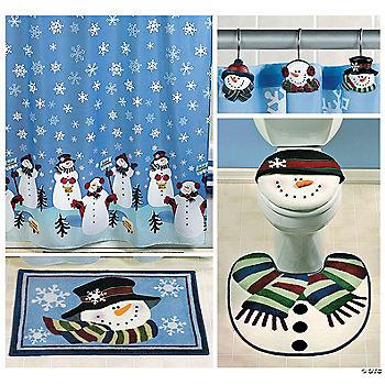 snowmen bath collection value oriental trading