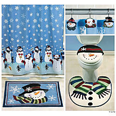 Snowmen Bath Collection - $54.96 Value