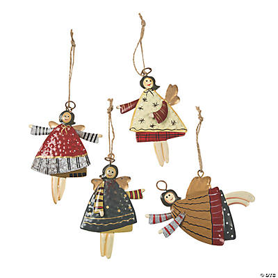 Dancing Angel Christmas Ornaments