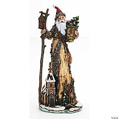 Old World Santa With Walking Stick