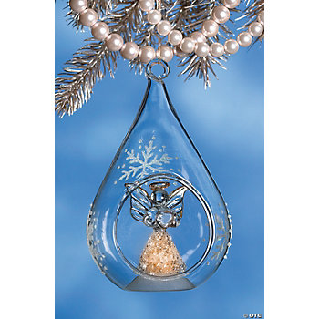 Luminous Angel Christmas Ornament
