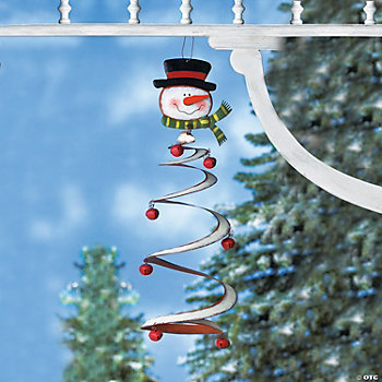 Jingle Bell Snowman Mobile