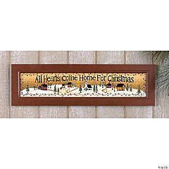 """All Hearts Come Home..."" Wall Hanging"