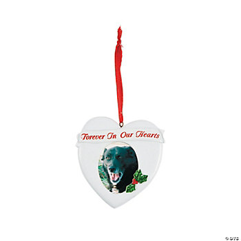 """Forever In Our Hearts"" Photo Frame Ornament"