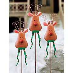 Reindeer Yard Stakes