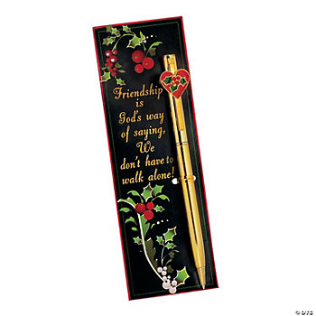 """Friendship..."" Pen & Bookmark Sets"