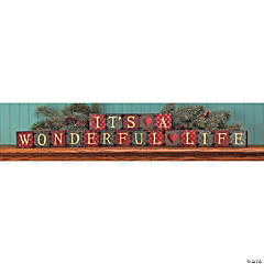 """It's a Wonderful Life"" Blocks"