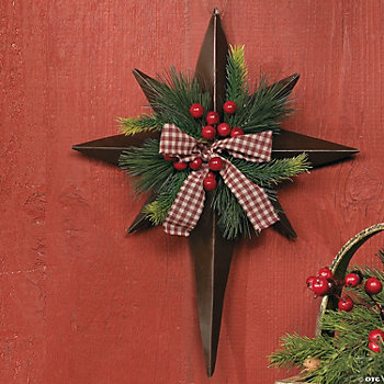 Christmas Barn Star