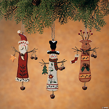 Christmas Character Ornaments