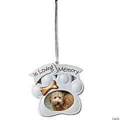 Memorial Dog Christmas Ornament