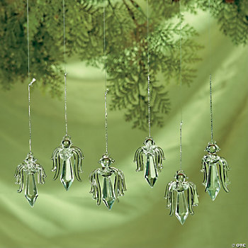 Crystal Angel Ornaments