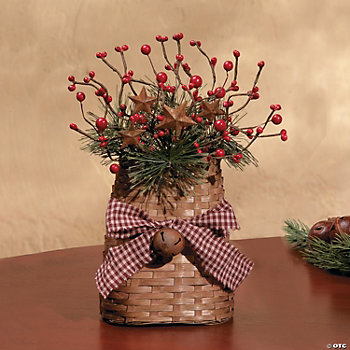 Christmas Berry Basket