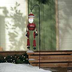 Santa Jingle Bell Yard Stake