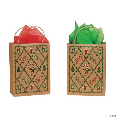 Patchwork Holiday Gift Bags