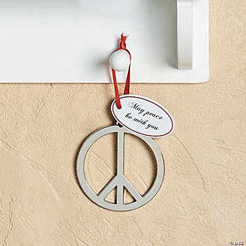 Peace Sign Ornaments