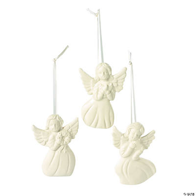 Jade Porcelain Angel Ornaments