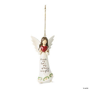 """Friends Are God's Way"" Ornaments"