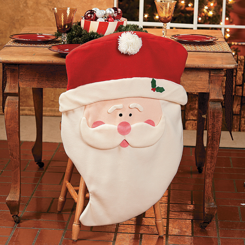 Santa Chair Covers Oriental Trading